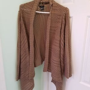 Women's size 1X RQT Women's cardigan sweater